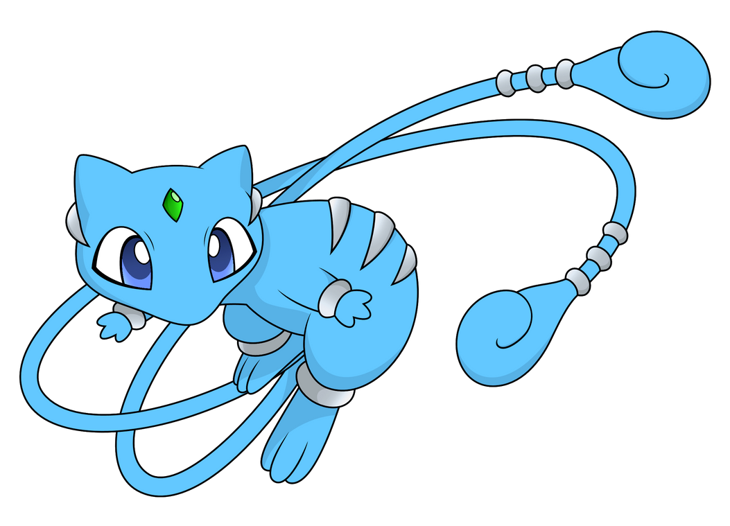 Shiny Mega Mew (fake) by Reitanna-Seishin on DeviantArt