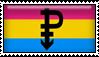 Pansexual Stamp by Reitanna-Seishin
