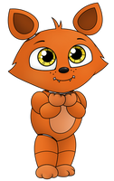 Baby Foxy by Reitanna-Seishin