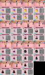 ACNL Muffins Themed Dresses by Reitanna-Seishin