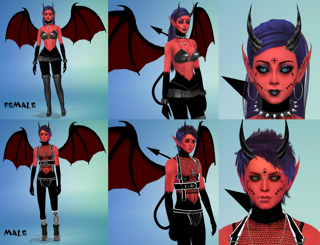 Species - Succubus and Incubus by Reitanna-Seishin on ...
