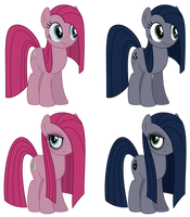 Pinkie and Minkie Color Swap by Reitanna-Seishin