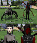 Half-Spider VS Spider Person by Reitanna-Seishin