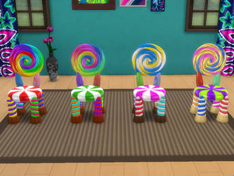 TS4 Candy Chair Download by Reitanna-Seishin