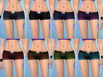 TS4 Hot Shorts Download by Reitanna-Seishin