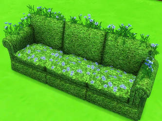 TS4 'Let it Grow!' Sofa Download by Reitanna-Seishin