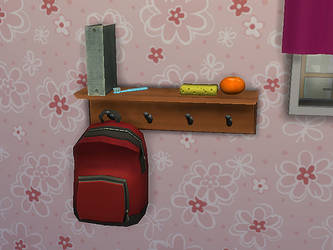 TS4 Coat Rack Shelf Download by Reitanna-Seishin