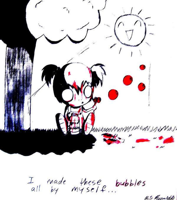 Blood Bubbles by Reitanna-Seishin