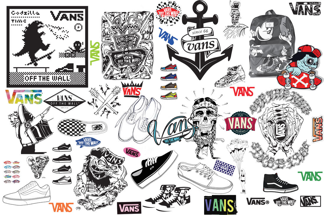 Off The Wall Arts vans off the wall poster/wallpaperkhiddspiff on deviantart