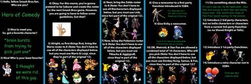 Super Smash Bros Switch Meme HoC answers