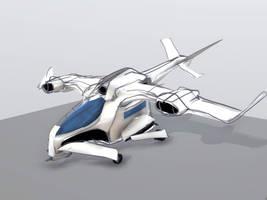 FUTURISTIC PLANE by Gabriel52708