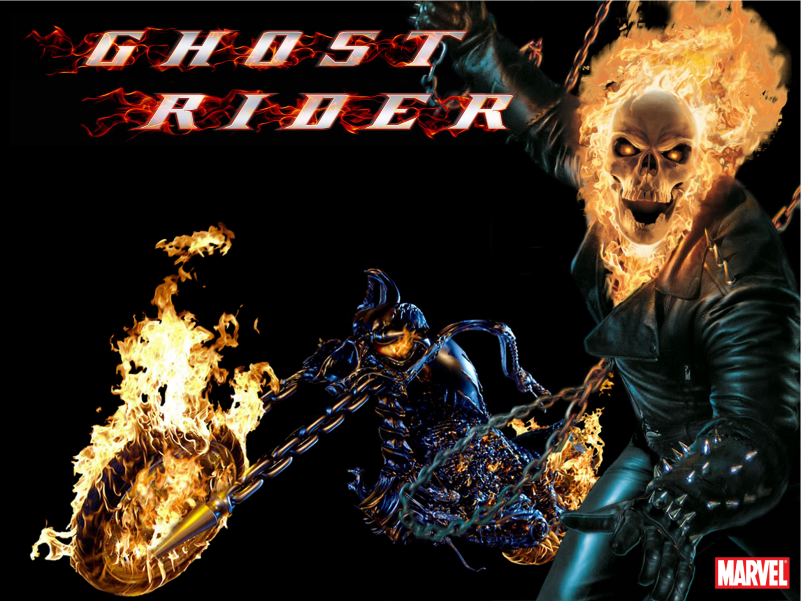 1152x864 Ghost Rider desktop wallpapers and stock photos