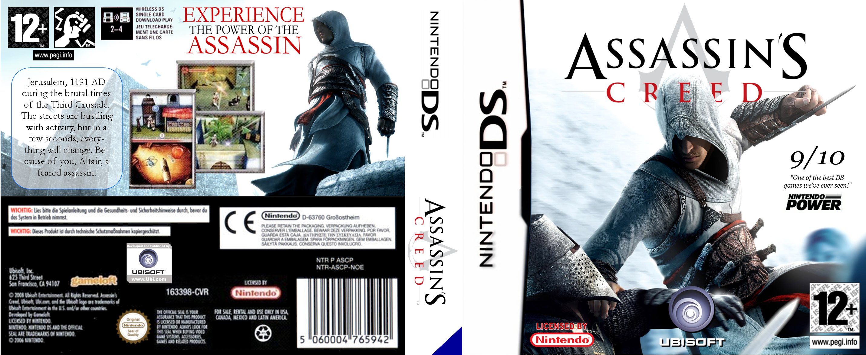 Assassin S Creed Ds By Megatron 1 On Deviantart