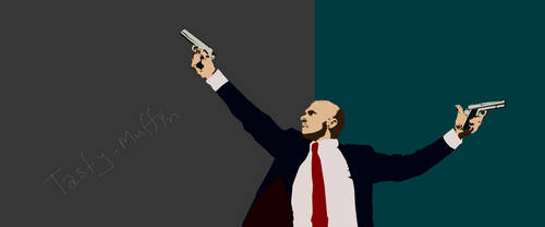 Hitman Absolution - Vector style (mouse Drawing)