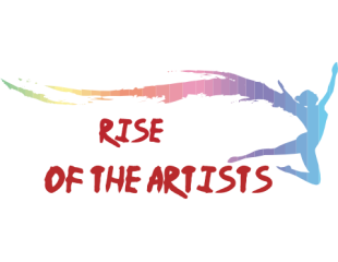 RISE OF THE ARTISTS - DA group LOGO Submition by Tasty-muffin