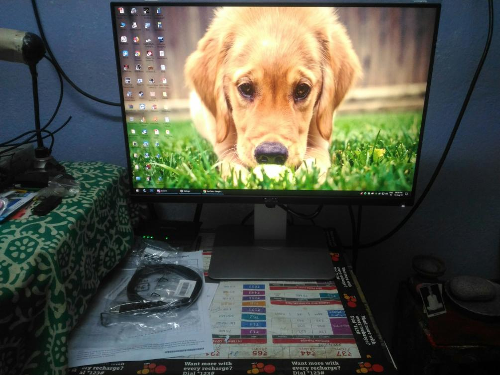 My New Monitor - Dell Ultra Sharp - U2415 24inch 2 by Tasty-muffin