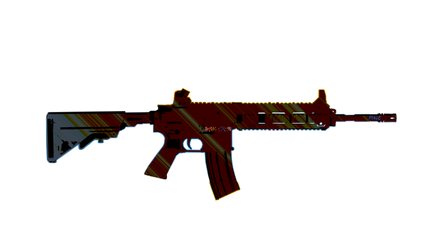 The HK416 aka M416 Assault Rifle in PUBG