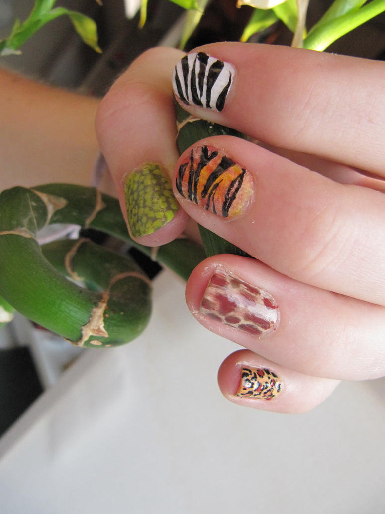 List of Synonyms and Antonyms of the Word: jungle nails