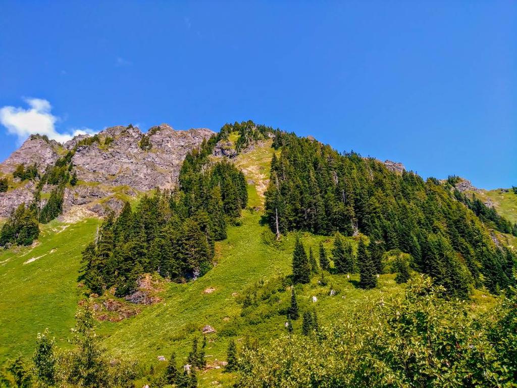 Sauk Mountain by CelticTyger