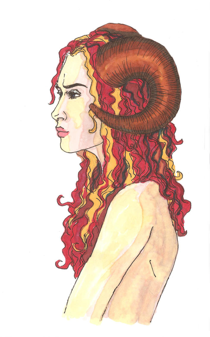 Aries by saysoifyouwantto