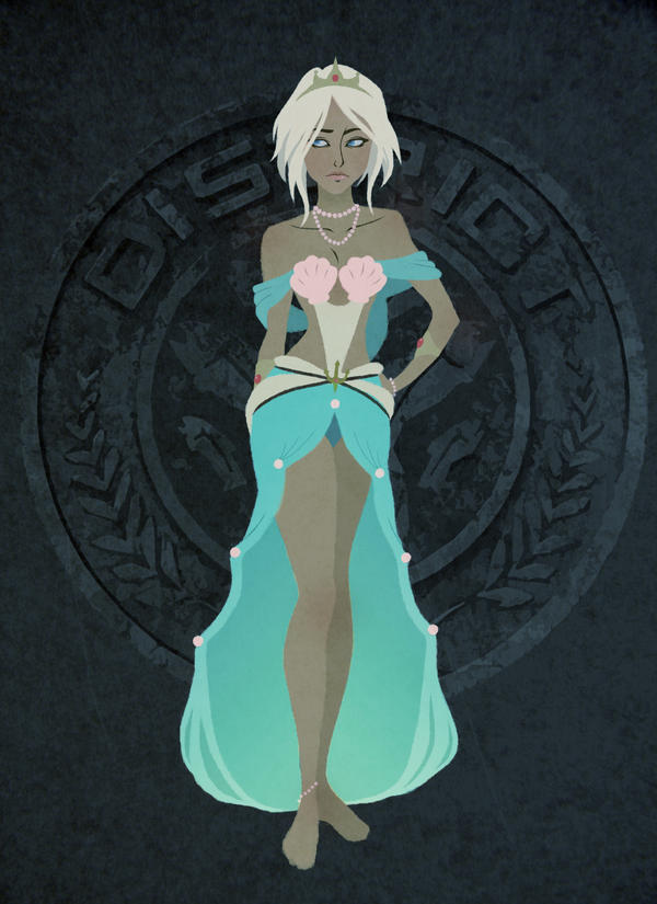 Tribute Parade: District 4: Ferryn by JoceyDraws