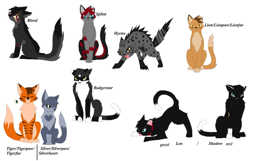 Warrior Cat Names For Amber
