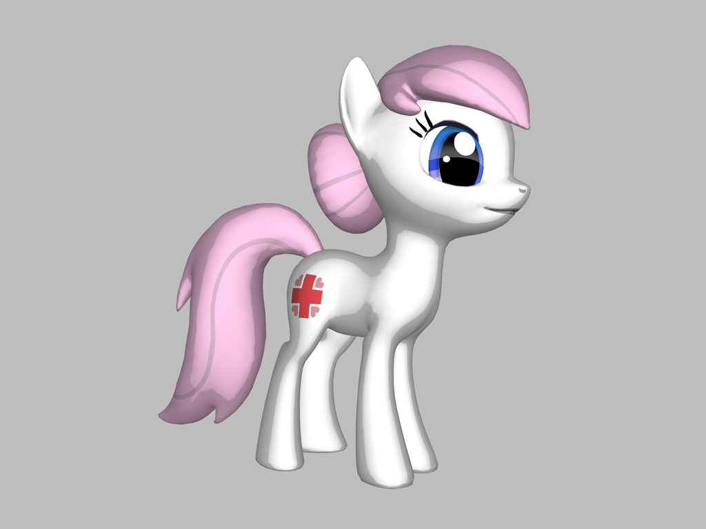 mlp: Nurse Redheart by november123456789066
