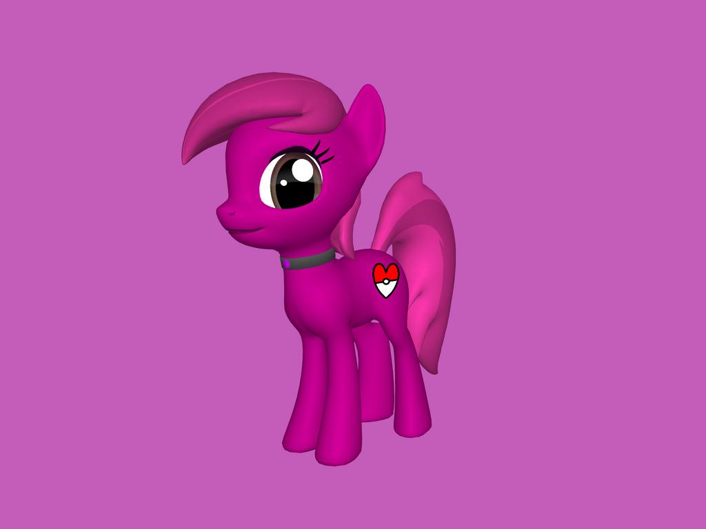 Me as a pony on mlp 3d pony maker by november123456789066