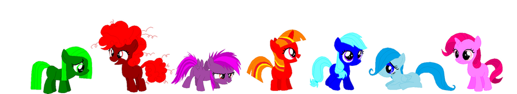 Mlp Adopt Fillies version by november123456789066