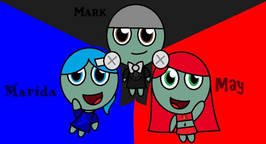 Pokemon Magnet Trio by november123456789066