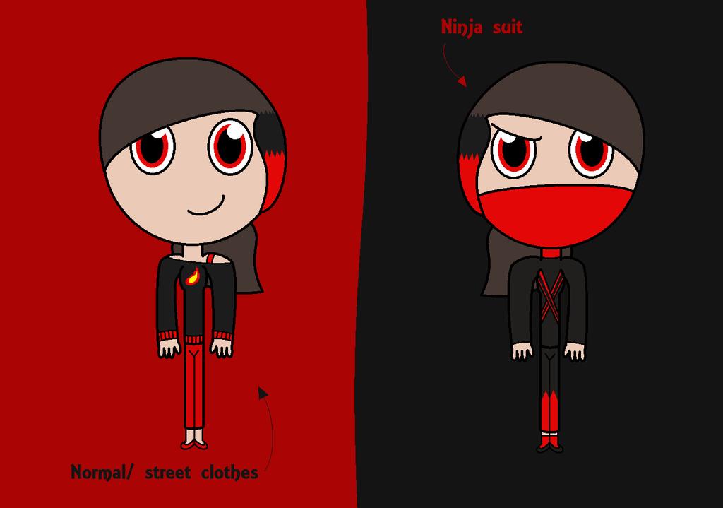 Ninjago Oc Nikki Jones by november123456789066