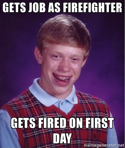 Bad luck Brian meme by november123456789066