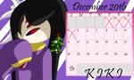 Countdown to Christmas! Dec 4th - Kiki by AnimalCreation