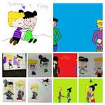 mine top ten pictures of Schroeder and Violet