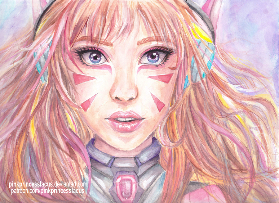 D.Va by PinkPrincessLacus