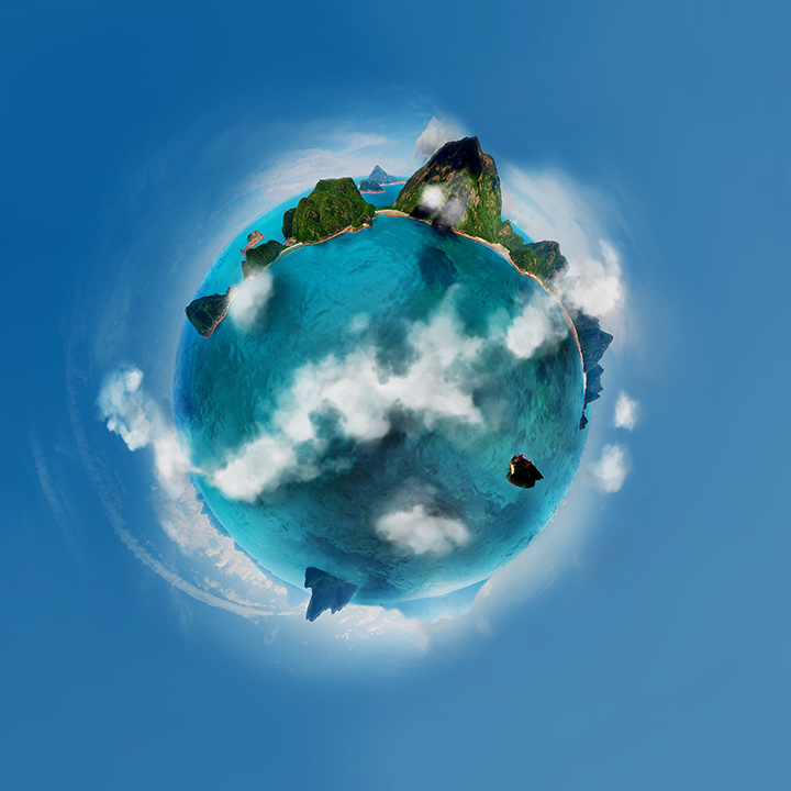 Tiny Planet project 2014 by KIS-Art