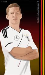 Bastian Schweinsteiger by 21Artt