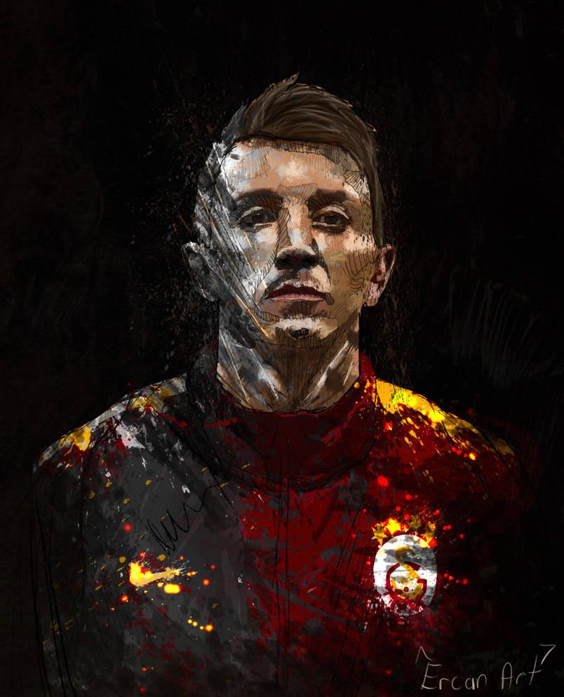 Fernando Muslera Galatasaray Vectorel Art 2019 by 21Artt