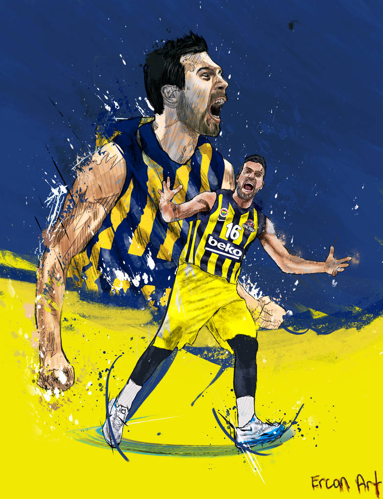 Kostas Sloukas  Fenerbahce Beko by 21Artt