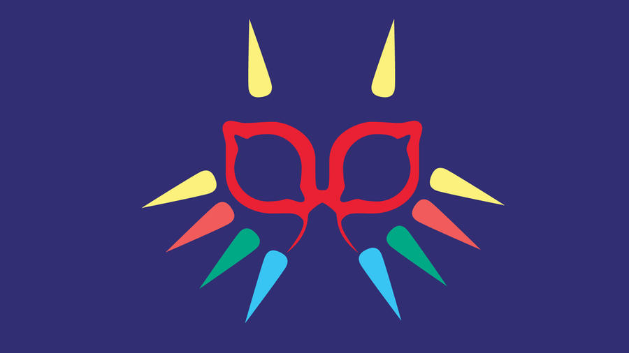 Majora's Mask Minimalist Vector by Krukmeister on DeviantArt