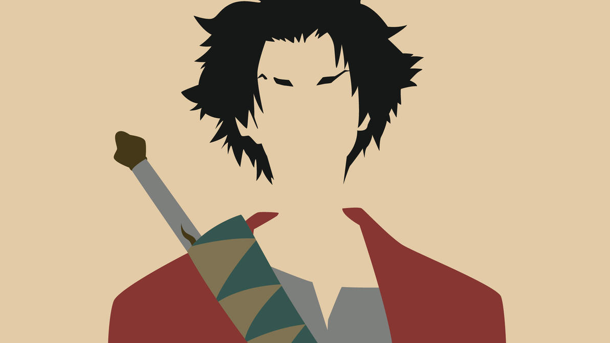Samurai Champloo: Mugen Minimalist by Krukmeister