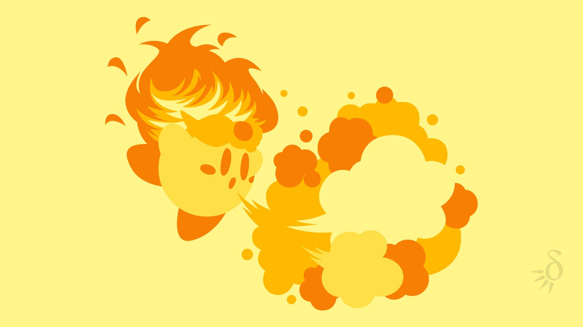 Fire Kirby By Krukmeister On Deviantart