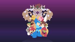 Mega Man - Super Smash Bros. by Krukmeister
