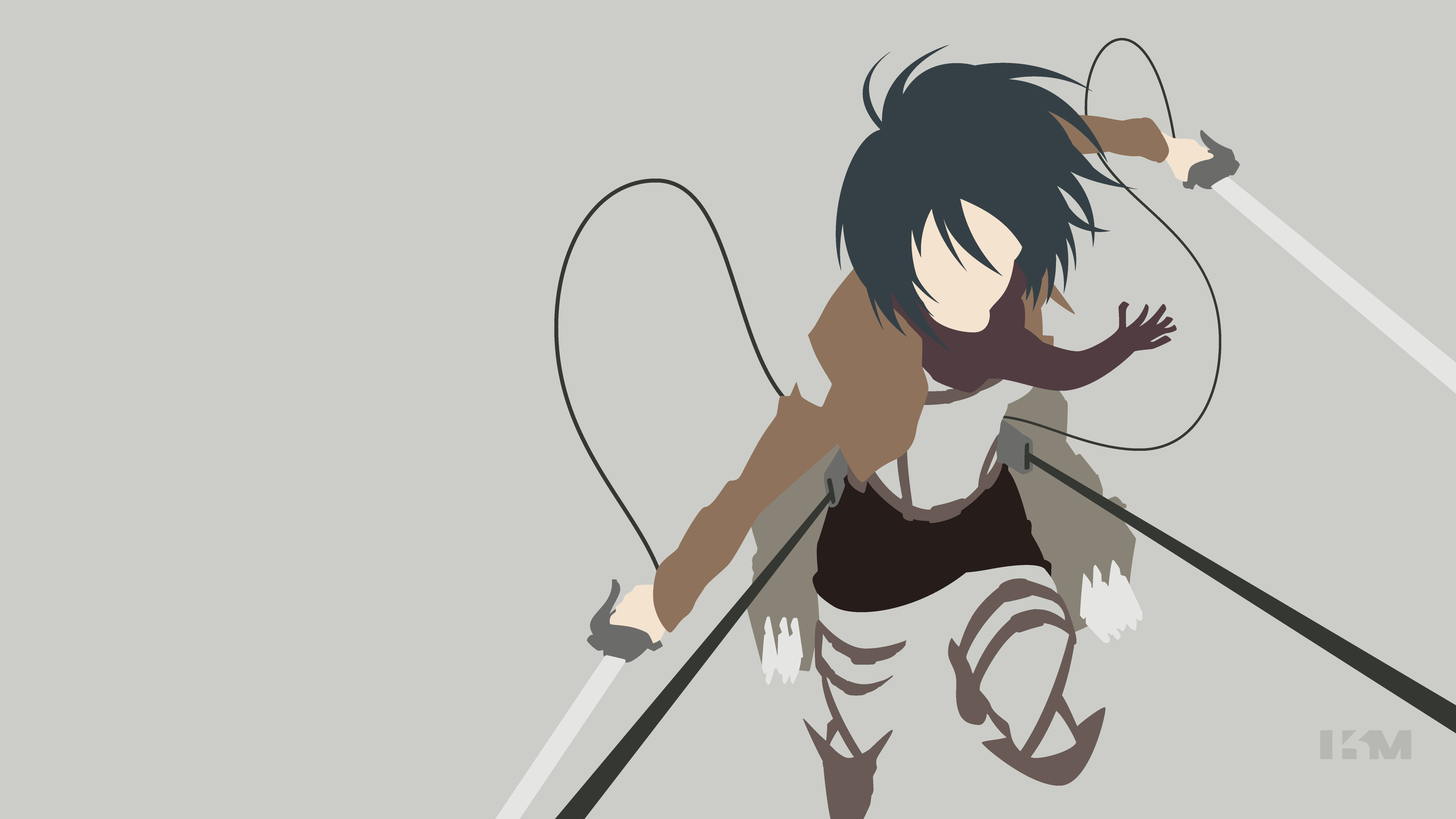 Request Shingeki No Kyojin Mikasa Ackerman By Krukmeister On Deviantart