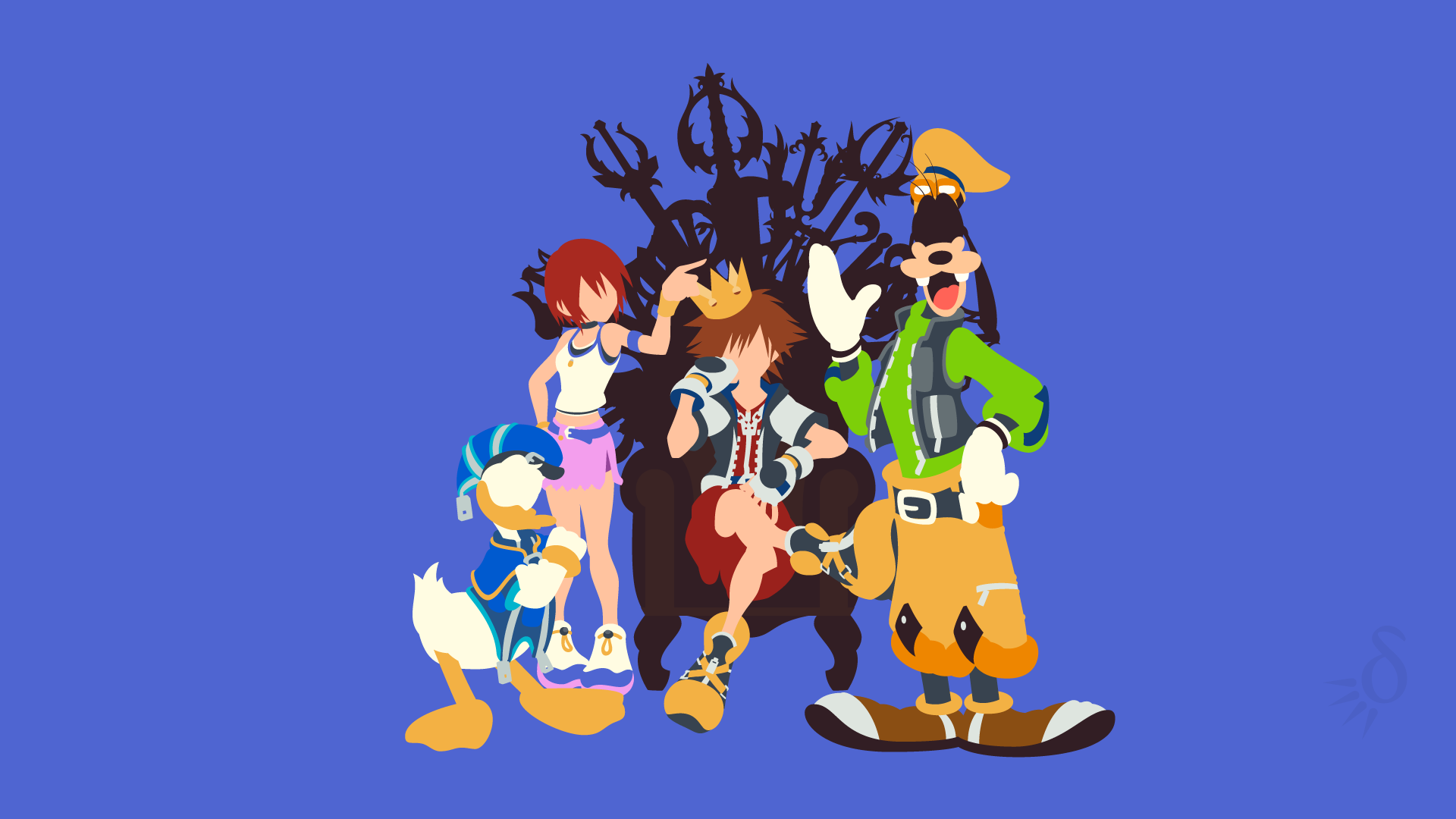 Kingdom Hearts Unchained X Team Builder