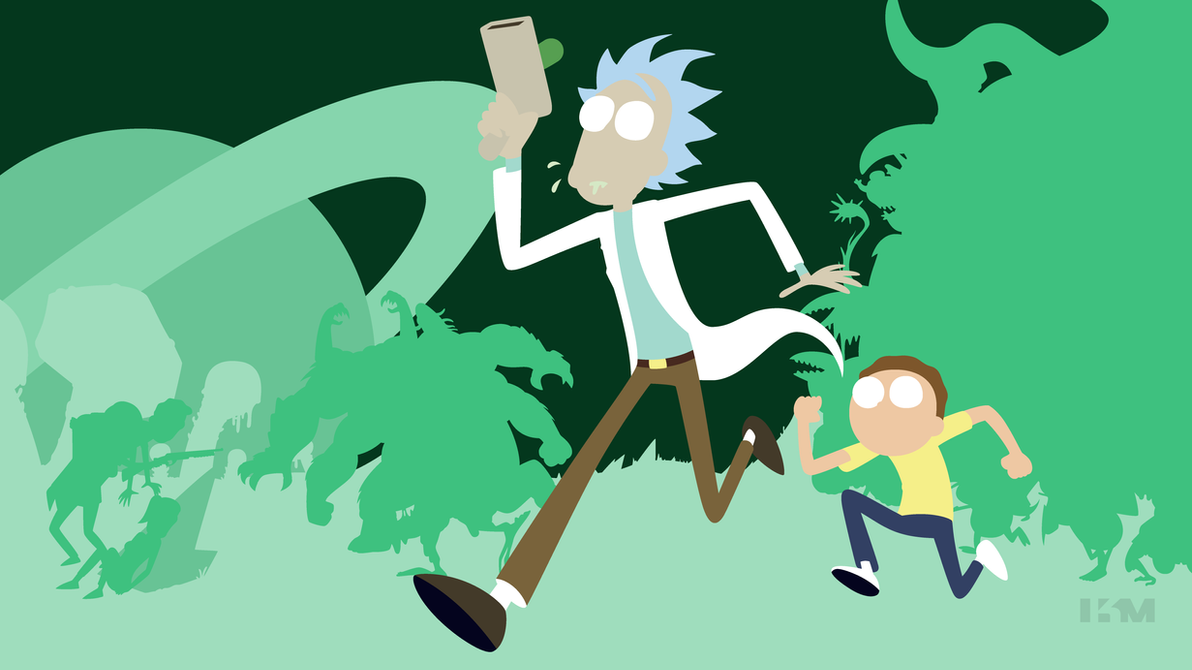 rick and morty by krukmeister on deviantart