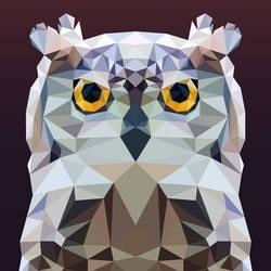 Low Poly - Owl