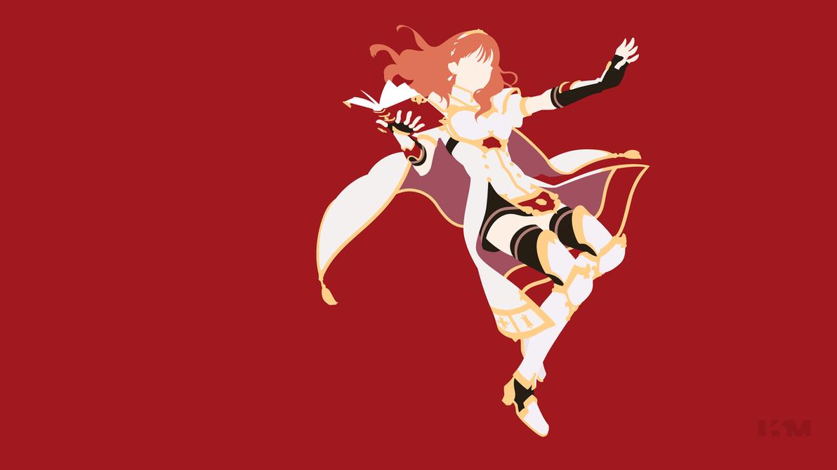 Fire Emblem Heroes - Celica by Krukmeister