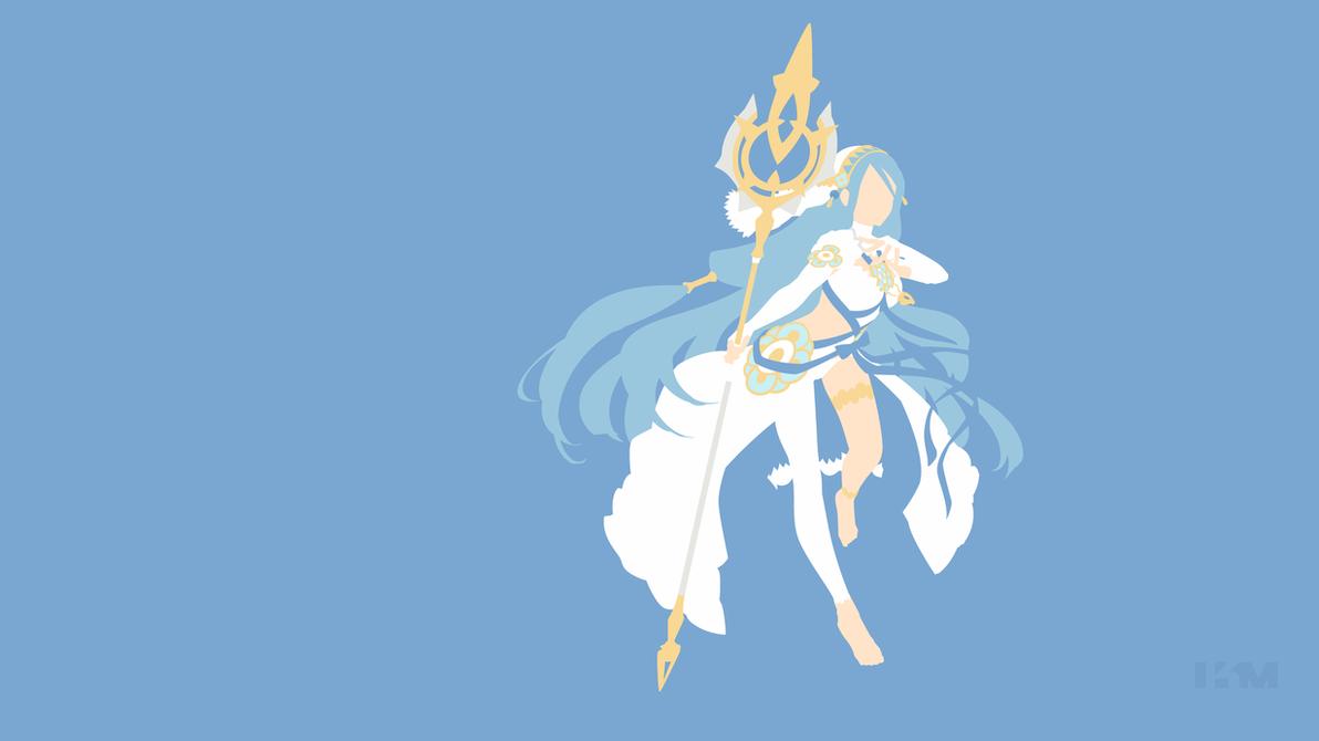 Fire Emblem Heroes - Azura by Krukmeister