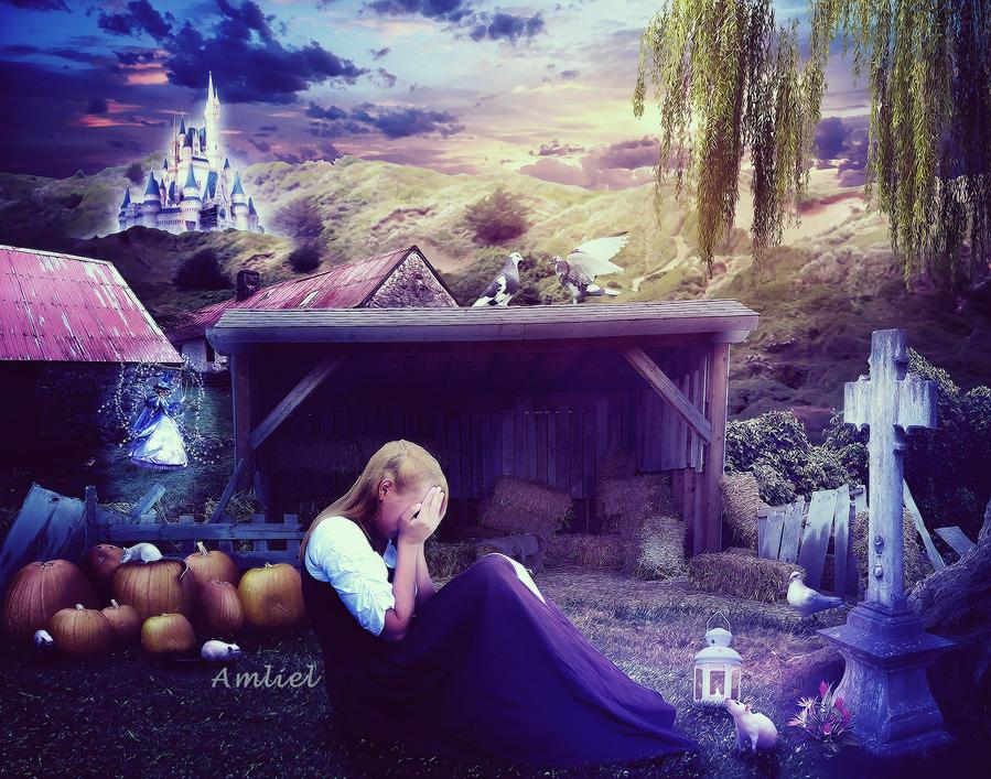 Cinderella - Mother's Grave by Amliel